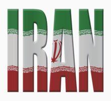 Flag Iran by stuwdamdorp