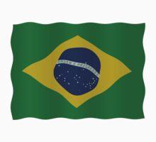Brazilian flag One Piece - Short Sleeve