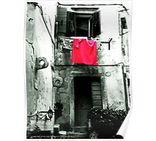 A Red Towel Poster