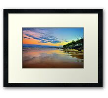 Rainbow Sky Framed Print