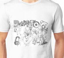 Hip Hop_ Black and White Unisex T-Shirt