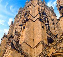 York Minster by ANDREW BARKE