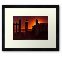 """Griffith Island Gold"" Framed Print"