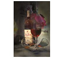 Daze of Wine and Roses Photographic Print