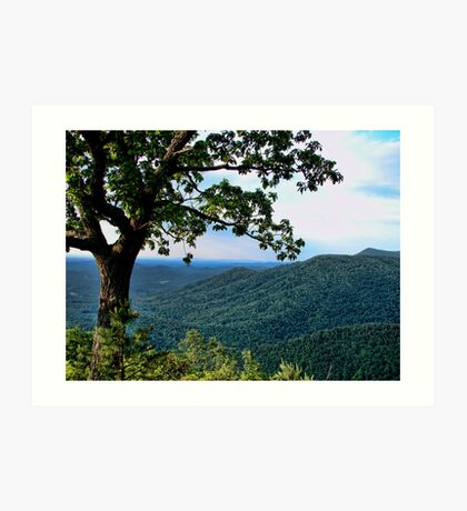 The Blue Ridge Parkway Art Print