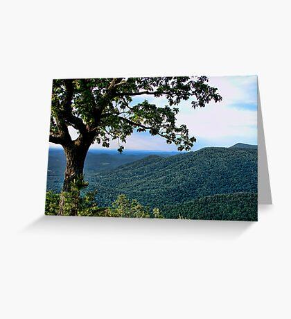 The Blue Ridge Parkway Greeting Card