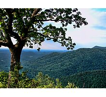 The Blue Ridge Parkway Photographic Print