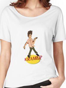 Kramer Cartoon Women's Relaxed Fit T-Shirt