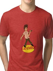 Kramer Cartoon Tri-blend T-Shirt