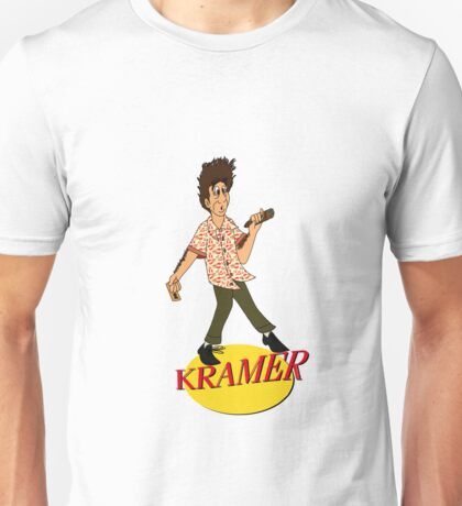 Kramer Cartoon Unisex T-Shirt