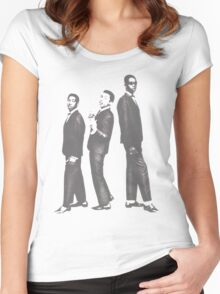 Bunny, Bob, and Peter - The Wailers Women's Fitted Scoop T-Shirt