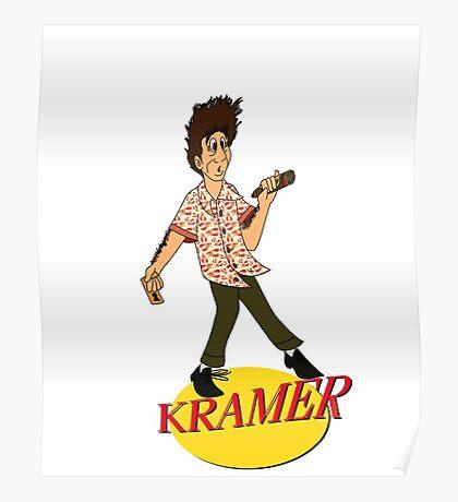 Kramer Cartoon Poster