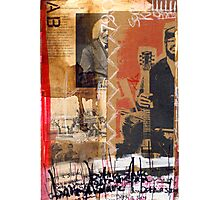 Born a slave Photographic Print