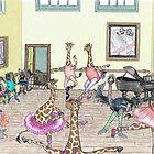 Ballet Practice by SiSterArt