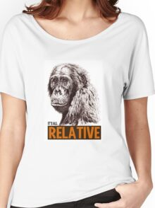 It's all Relative Women's Relaxed Fit T-Shirt