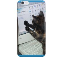 Computer Cat iPhone Case/Skin