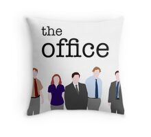 The Office - Block Colour Edition Throw Pillow
