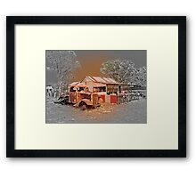 Relections of the Goldrush Days Framed Print