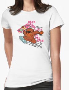 Back to the Planet of the Apes Womens Fitted T-Shirt