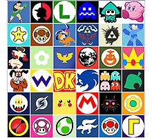 Nintendo Collage Photographic Print