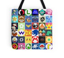 Nintendo Collage Tote Bag
