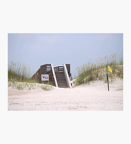 Beach Stairs Photographic Print