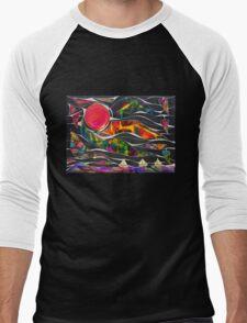 Three Ships - Let's Sail Away Men's Baseball ¾ T-Shirt