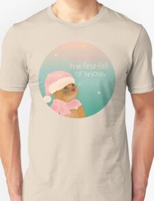 Dressing up for snow Unisex T-Shirt