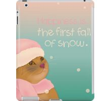 Dressing up for snow iPad Case/Skin