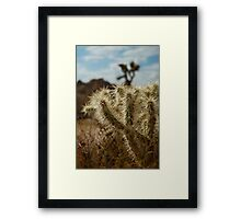 at ground level Framed Print