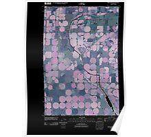 USGS Topo Map Washington State WA Winchester 20110425 TM Inverted Poster