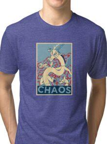 CHAOS Tri-blend T-Shirt