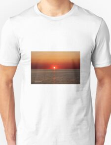 Beautiful Late sunset in Sweden  Unisex T-Shirt