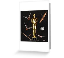 Oscars Night Out Greeting Card
