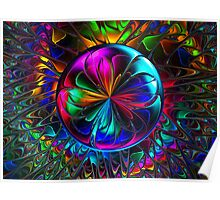 Colorful Loonie Poster