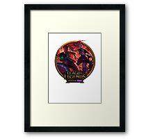 Slayer Pantheon and Slayer Jinx Framed Print