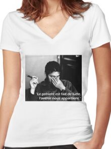 "Ernesto ""Che"" Guevara Women's Fitted V-Neck T-Shirt"