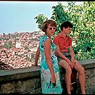 Time to remember . Brown Sugar with Mother .  A.D. 1964 . Veliko Tarnovo - the capital of Bulgaria during the second Bulgarian kingdom.  Featured A Street Story.  DAYS Gone By Good goin'! Thx! by © Andrzej Goszcz,M.D. Ph.D