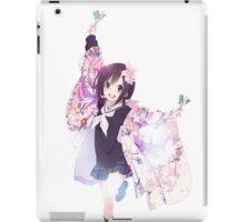 hanayamata iPad Case/Skin