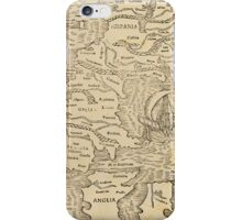Antique map iPhone Case/Skin