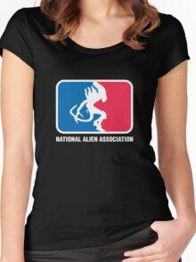 National Alien Association Women's Fitted Scoop T-Shirt