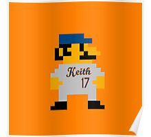 Video Game Baseball Player Poster