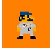 Video Game Baseball Player Photographic Print