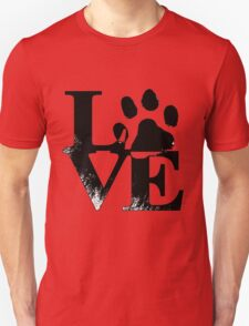 Love paw Unisex T-Shirt
