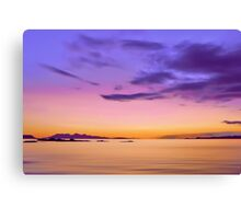 Alba Evening Canvas Print
