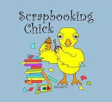 Scrapbooking Chick Text Unisex T-Shirt