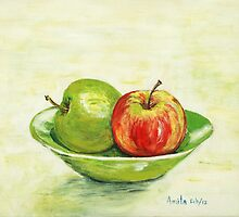 Apples by Nirsha