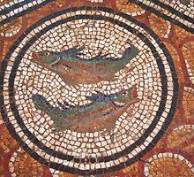 Pisces Mosaic by Laurel Talabere