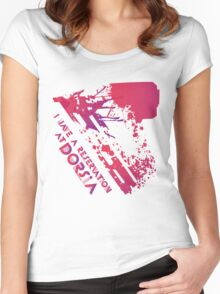 We have a dinner at Dorsia Women's Fitted Scoop T-Shirt