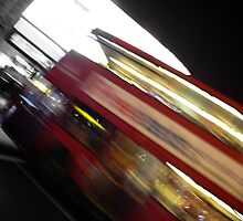 London Bus by Rowan Kanagarajah